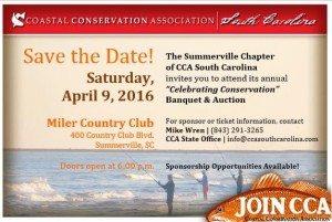 Summerville CCA Banquet Reminder